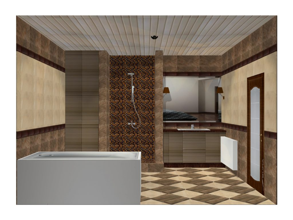 ванная котедж Маяковского3