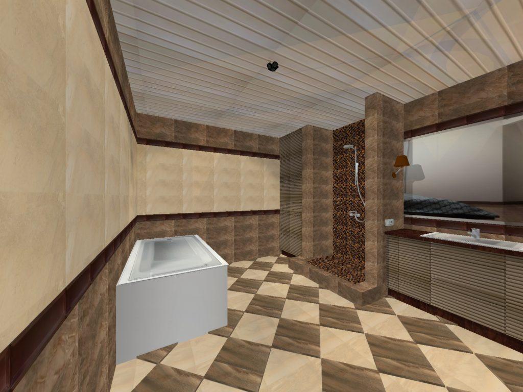 ванная котедж Маяковского32