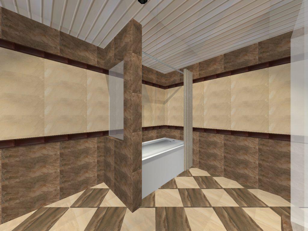 ванная котедж Маяковского34